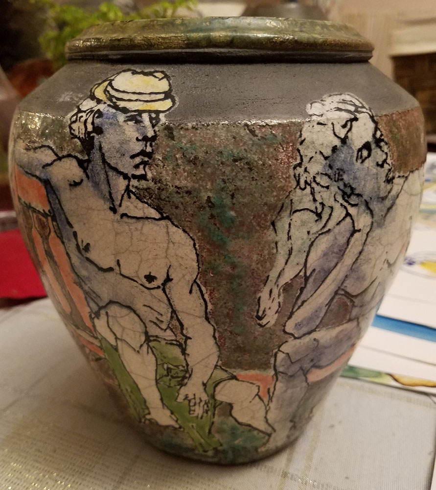 David Hill, Ceramic 3