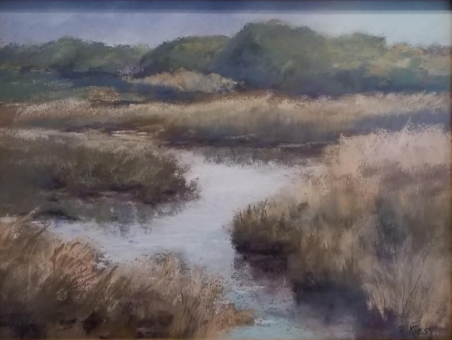 Still Waters, Roswitha Kress, 17 x 21, pastel on board, $400